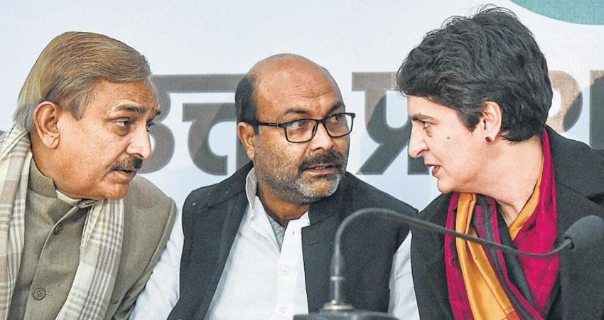 Congress asked If there is employment in UP then why people forced to commit suicide rkdsnt