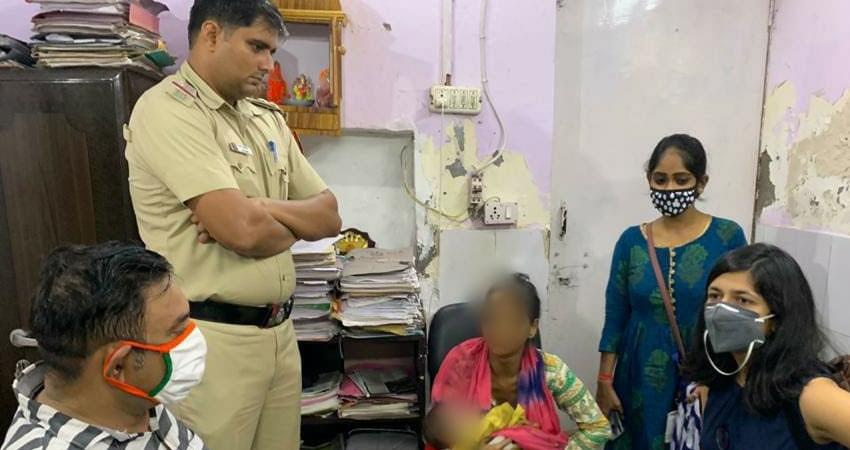 father sold  baby girl for money saved life with the help dcw and police pragnt