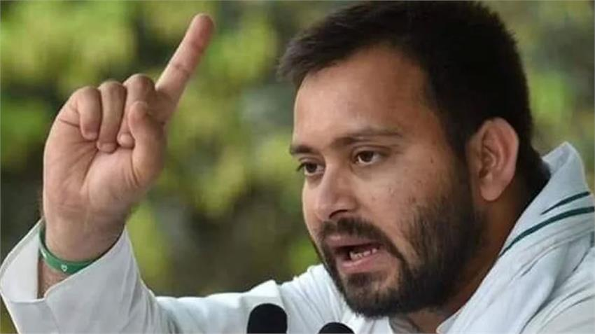 tejashwi yadav rjd reminds nitish kumar jdu bjp 19 lakh jobs with best wishes rkdsnt