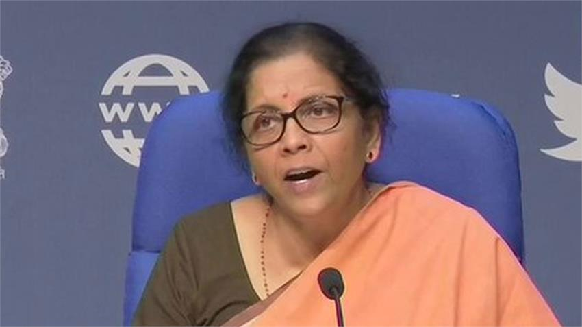 economic package 10 points bjp nirmala sitharaman first conference msme loan nbfc rkdsnt