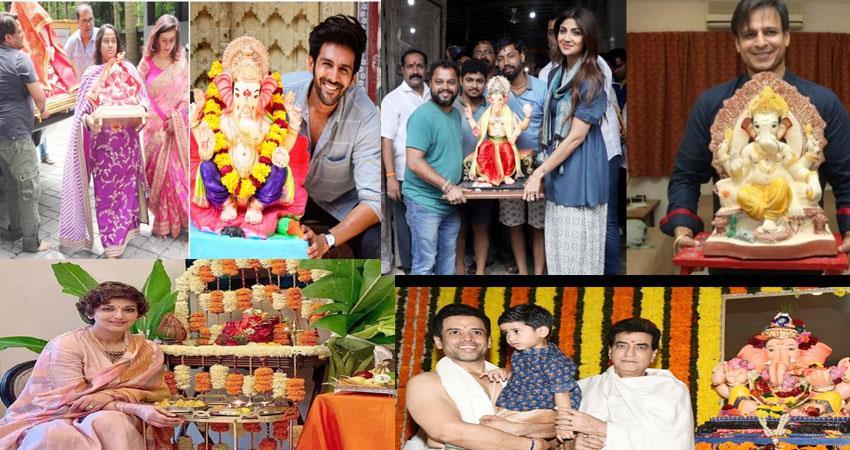 bollywood ganesh chaturthi 2019 pics viral