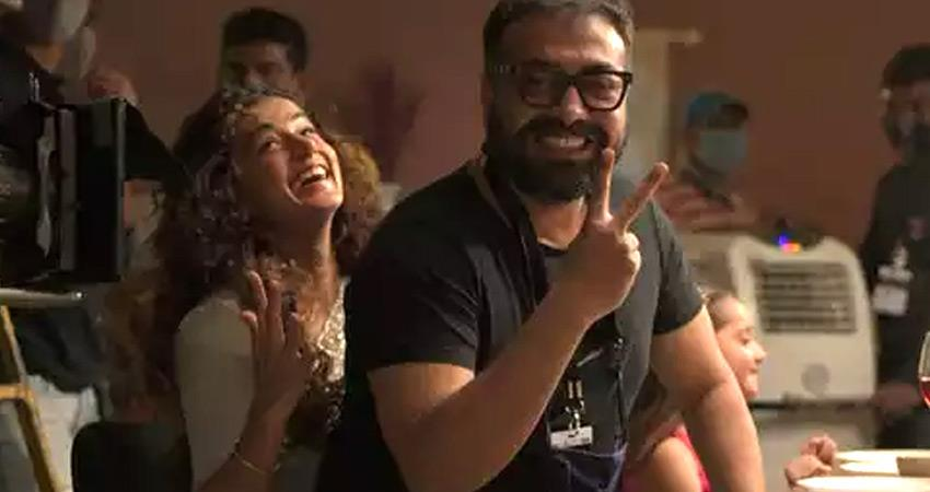 anurag kashyap resumes filming film dobara with taapsee pannu amid it raids rkdsnt