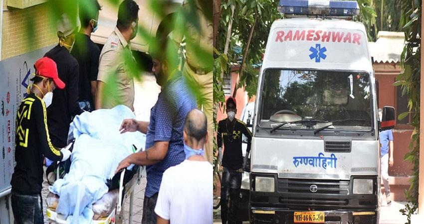 sushant singh rajput dead body pics social media viral pragnt