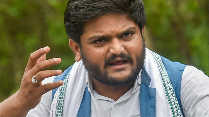 hardik patel congress demand president rule in gujarat bjp narayan rane in maharashtra rkdsnt