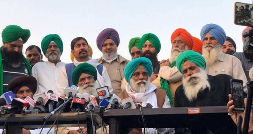 farmers tractor march postponed in view of talks with modi bjp government rkdsnt