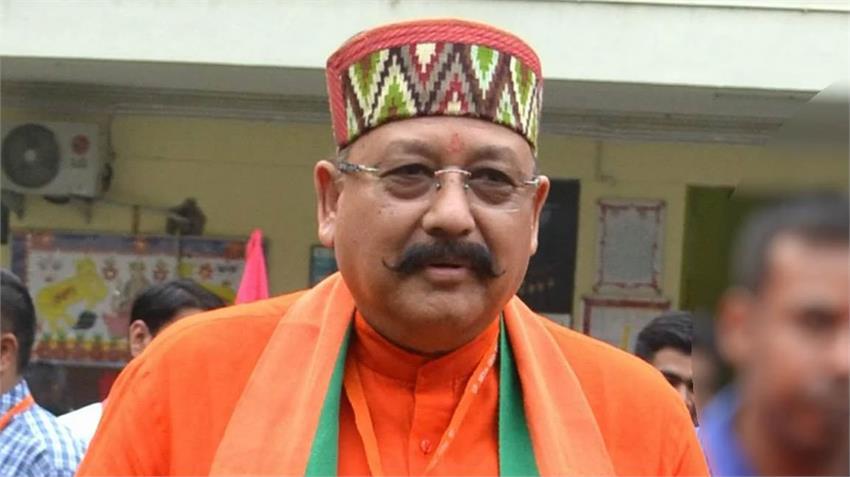 satpal maharaj corona positive uttarakhand cm rawat run govt from home rkdsnt