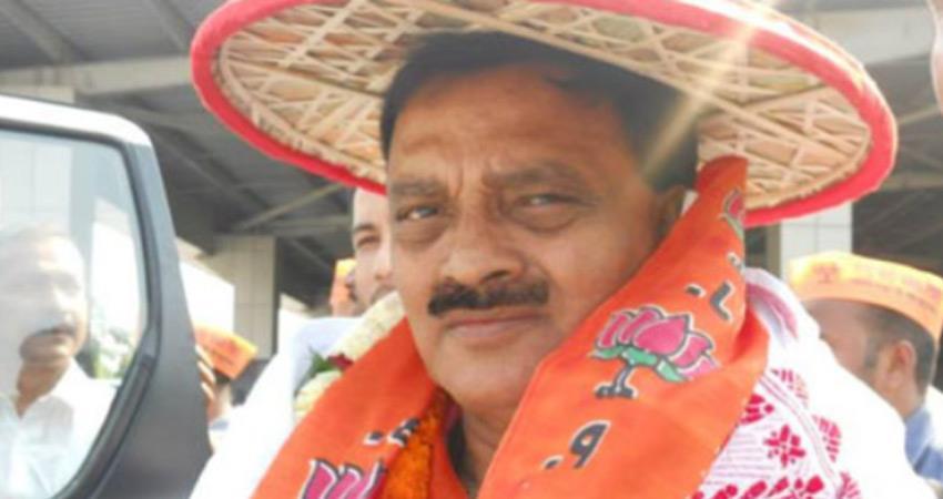 assam-tejpur-mp-ram-prasad-sharma-give-big-blow-to-bjp-rss