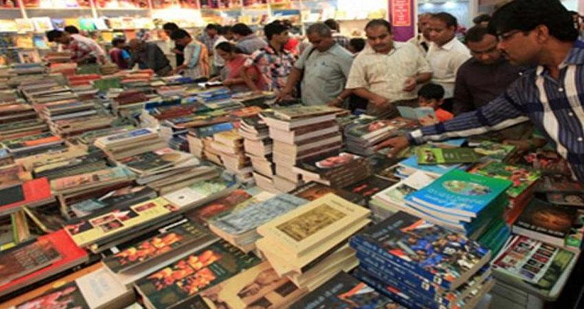 delhi book fair started in pragati maidan book lovers fiercely shopping