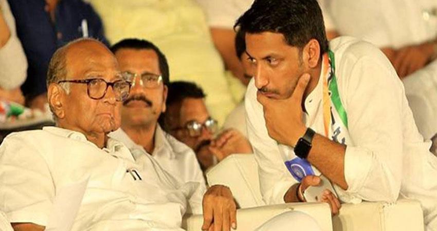 sushant singh rajput death  case supriya sule meets ajit pawar regarding parth pawar rkdsnt