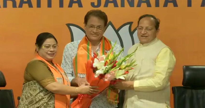 Assembly elections  BJPs Ram Arun Govil held saffron flag ALBSNT