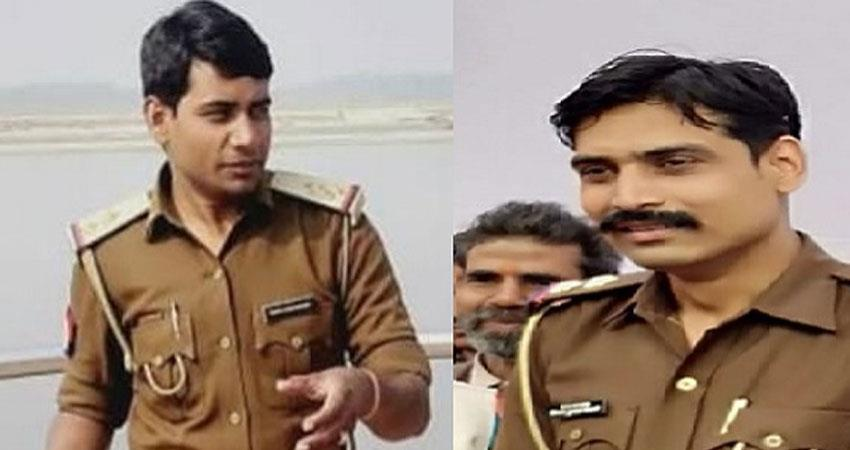 Kanpur encounter SHO Vinay Tiwari and beat in charge KK Sharma of Chaubepur arrested rkdsnt
