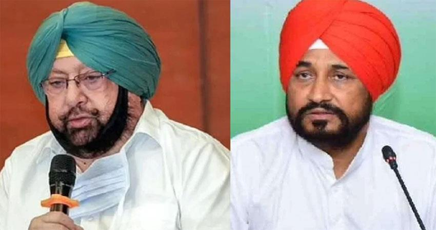 punjab cm channi meets captain amarinder singh many implications are being extracted albsnt