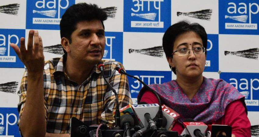 aap mla atishi says covaxin stock finished in delhi 125 vaccination centers to be closed rkdsnt