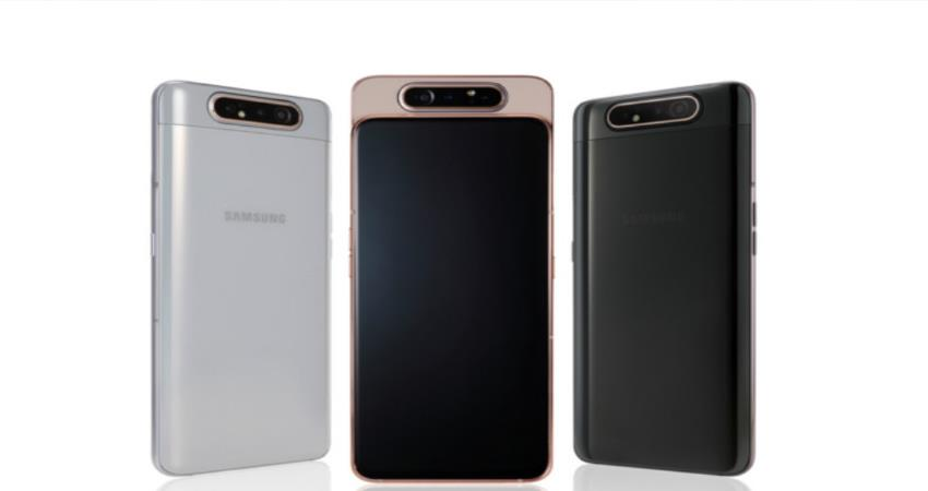 samsung galxy a80 with foldable camera can launch in july