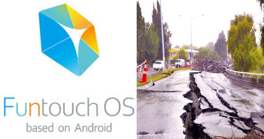 vivo is adding an earthquake warning feature in funtouch os smartphones