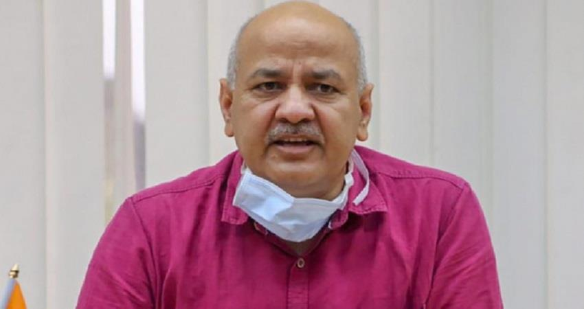 corona positive manish sisodia is suffering from dengue admitted in lnjp pragnt