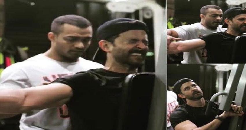 hrithik-roshan-seen-sweat-in-the-gym-despite-severe-injuries
