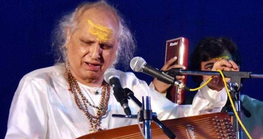 famous classical music singer pandit jasraj passed away new jersey usa america rkdsnt