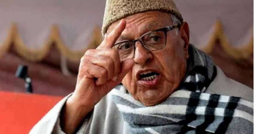 farooq abdullah included in defense committee headed by rajnath singh