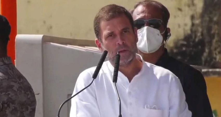 amid speculation about rahul gandhis coronation shiv sena praised said worthy leader albsnt