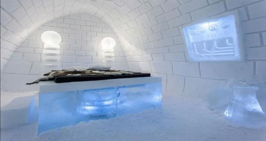 why sweden''''''''s ice hotel flows in the river in five months, know in detail albsnt