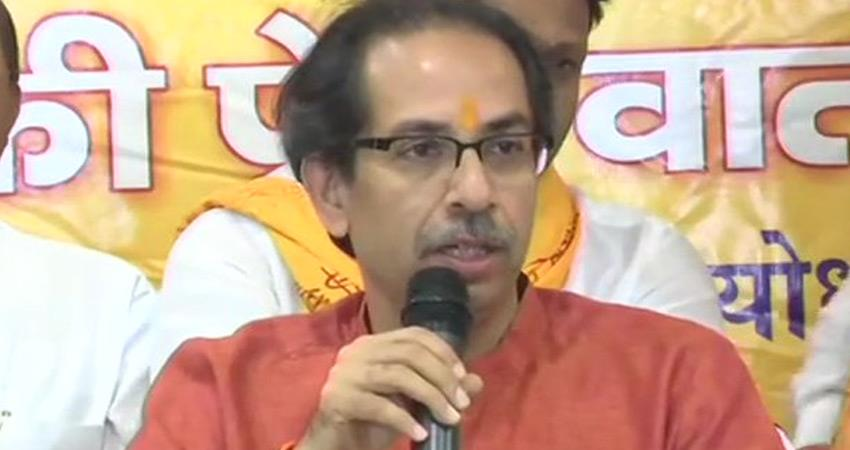 shiv sena says india be self reliant instead of relying on donald trump to answer china rkdsnt