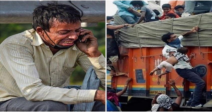 social media viral pictures of maigrent labor remind life real tragedy prsgnt