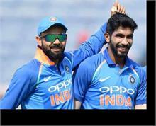 कोहली ODI रैंकिंग में दूसरे स्थान पर बरकरार, बुमराह गेंदबाजों में पांचवें स्थान पर