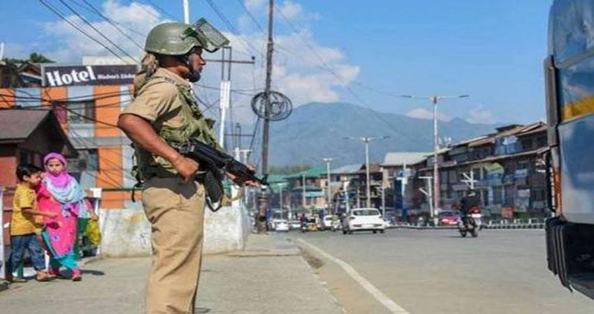 jammu and kashmir break on terrorist activities a sharp eye on 270 active terrorists albsnt
