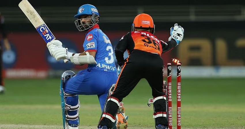 ipl 2020 dc vs srh live delhi beat hyderabad by 17 runs final with mi rkdsnt