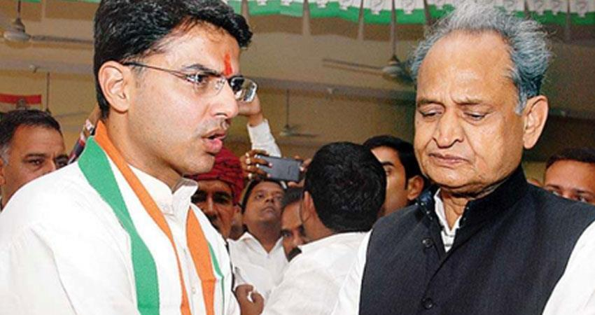 rajasthan congress mla in resort congress high command in touch with sachin pilot rkdsnt