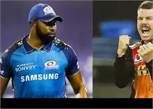 IPL 2020 SRH vs MI  : वॉर्नर-साहा ने हैदराबाद को प्लेऑफ में पहुंचाया, KKR  बाहर