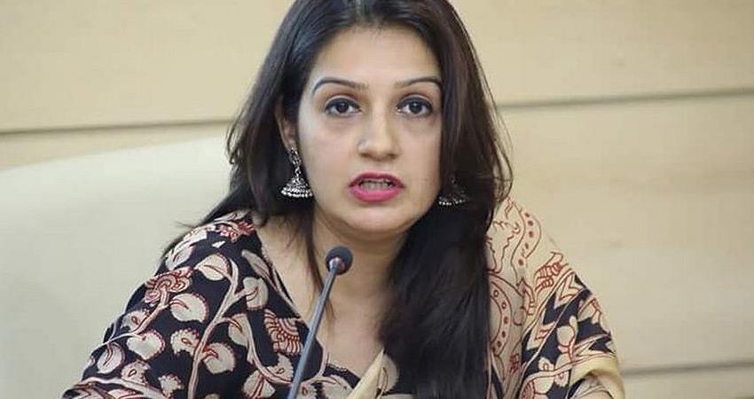 Shiv Sena Priyanka appeals to Modi BJP govt for strict action regarding Sulli deal case rkdsnt