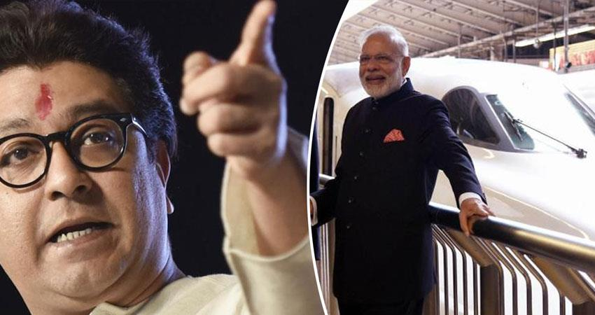 mns-workers-obstruction-in-pm-nerendra-modi-favorite-bullet-train-project-in-mumbai