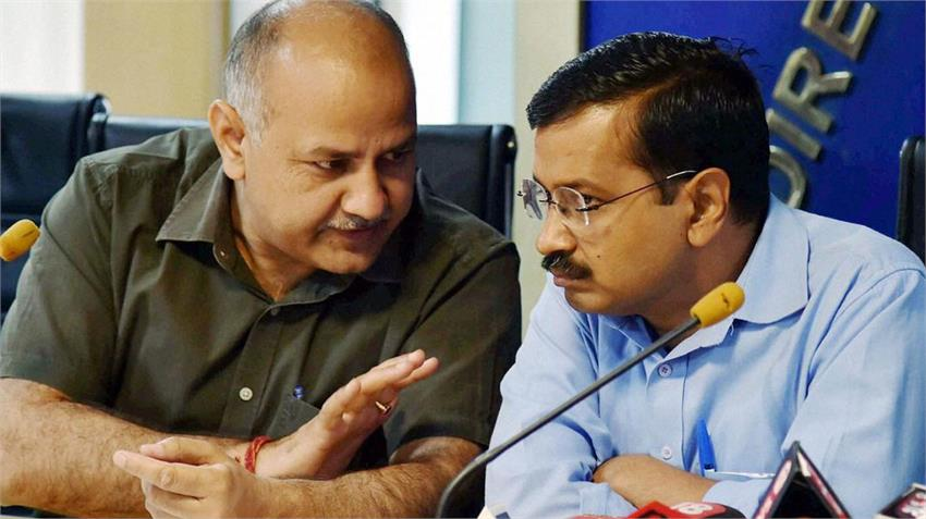 arvind kejriwal manish sisodia discuss parenting delhi children on corona virus situations rkdsnt