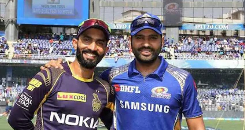 ipl2020 mi vs kkr mumbai indians won by 49 runs against kolkata knight riders  rkdsnt