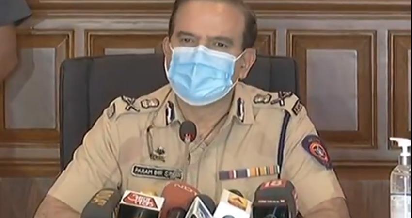fir registered against former mumbai police commissioner parambir singh for extortion rkdsnt