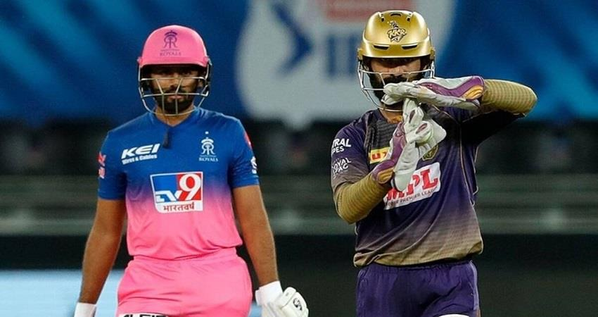live ipl 2020 kkr vs rr match today ipl match sobhnt