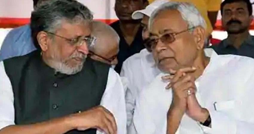 bihar bjp gave big blow to sushil kuamar modi giriraj singh also tightened rkdsnt