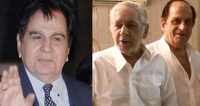 bollywood actor dilip kumar two brothers corona virus infected hospitalized rkdsnt