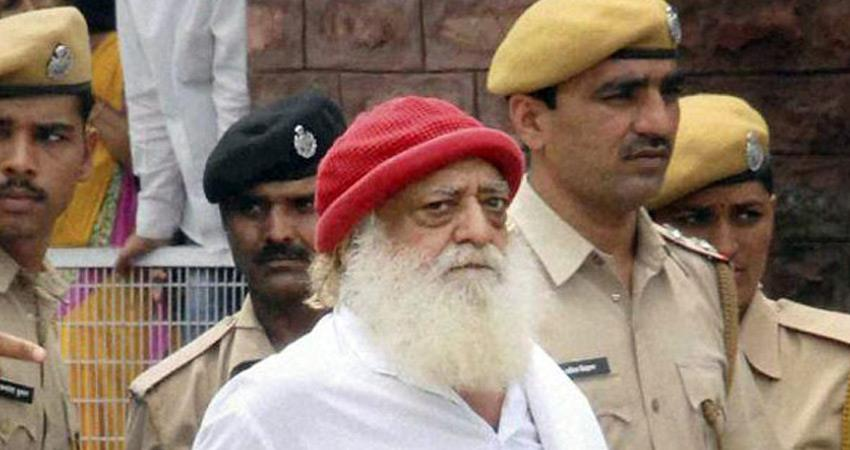blankets distributed in up jail by putting poster asaram bapu investigation begins rkdsnt