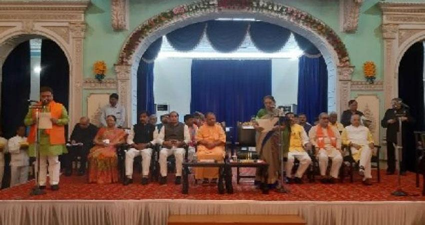 cm yogi adityanath expresses confidence in new face 23 new ministers swear in