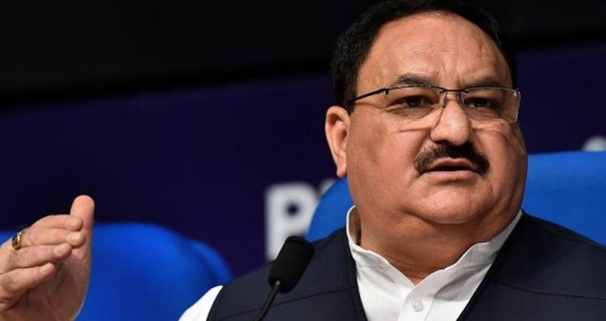 jp nadda bjp accuses congress rajiv gandhi foundation gets crores of us dollars china rkdsnt
