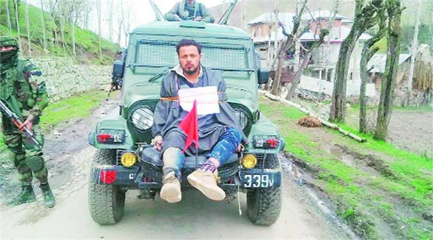 farooq-ahmed-dar-used-as-human-shield-by-indian-army-posted-on-election-duty