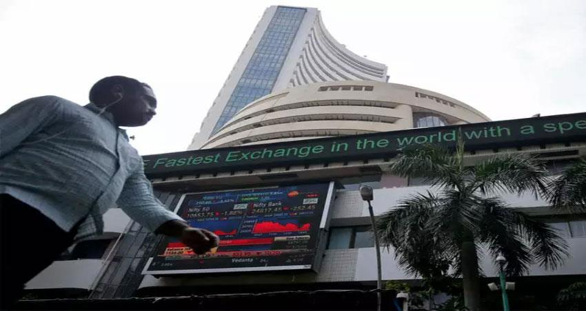 sensex opens in early trading with weak stance