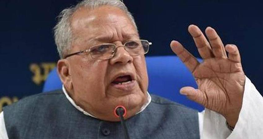 congress government of rajasthan will bring right to healthcare act says governor kalraj mishra