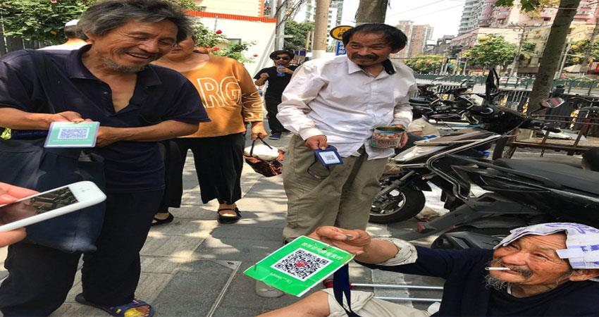 now beggars are also digital if there is no money then what happens albsnt