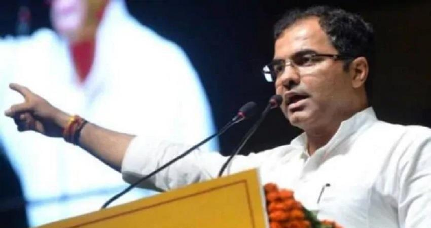 advertisement BJP MP Pravesh Verma pulled Kejriwal said dont tolerate such mistake ALBSNT