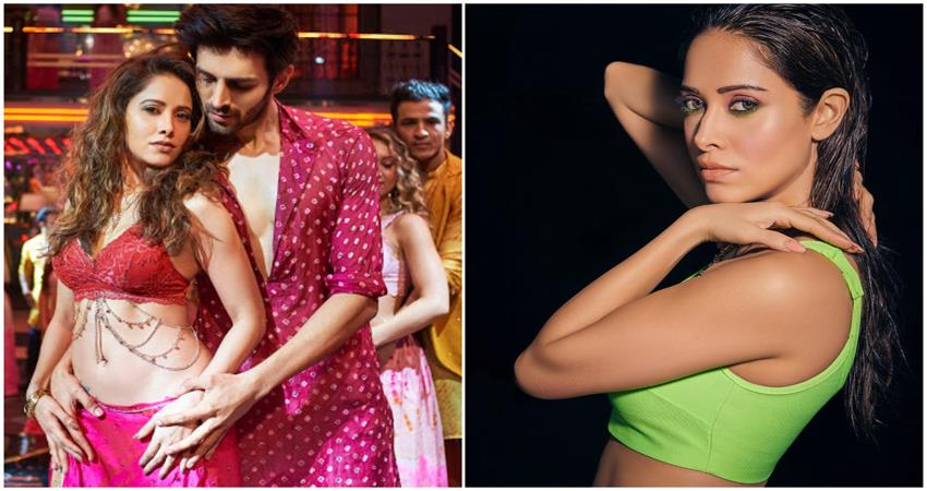 Nushrat bharucha reveals the reaction of his father when he saw chhote chhote peg song SOSNNT