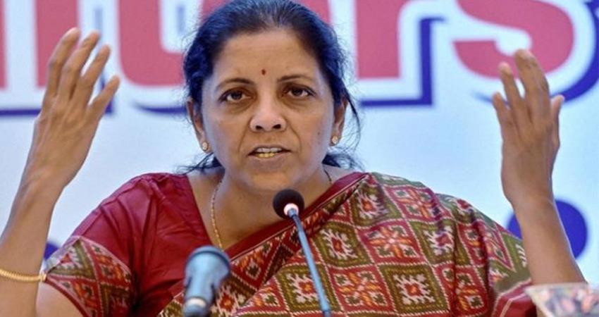 nirmala sitharaman says west bengal cannot be part of migrant employment scheme rkdsnt